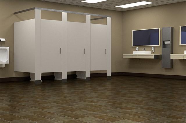 Clean Odor-Free Restroom