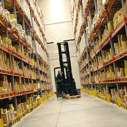 Warehouse Free of Pests