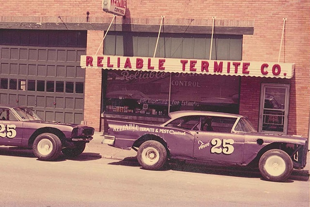 Vintage Reliable Storefront and Vehicles